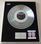VANGELIS - DIRECT PLATINUM LP presentation Disc